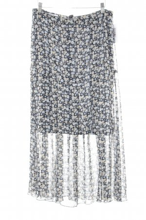 Isabell Klokrok gestippeld patroon elegant