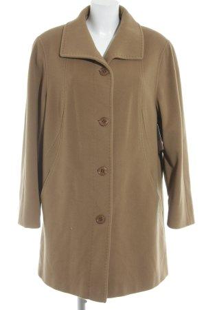 Isabell Manteau en laine chameau style simple