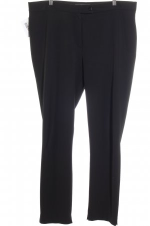 Ischiko Pantalon à pinces noir style d'affaires