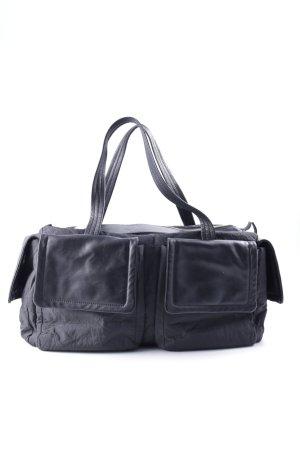 Ischiko Handtasche schwarz Casual-Look