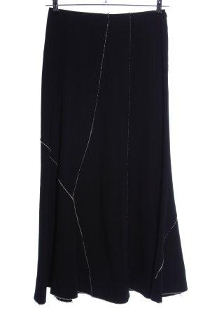 Ischiko Maxi rok zwart casual uitstraling