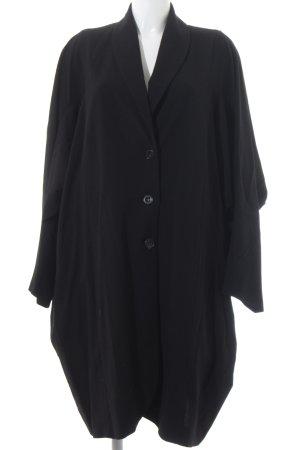 Ischiko Blazer de lana negro elegante