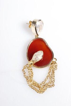 Isharya Ohrringe Serpent Druzy Drape Earring Amber