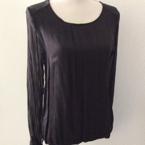 iSilk Slip-over blouse zwart