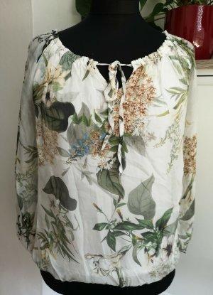 iSilk Silk Blouse multicolored silk