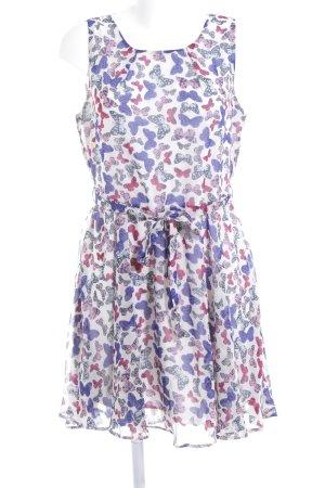 ISKA A-Linien Kleid Motivdruck Beach-Look