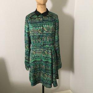 ISKA London Print Blusen Kleid Gr. 12 top