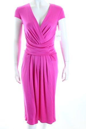 Issa Kurzarmkleid pink Elegant
