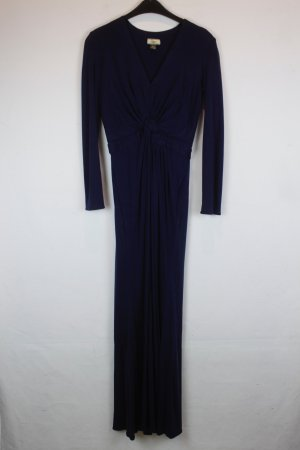 ISSA LONDON Kleid Seidenkleid Gr. XS dunkelblau