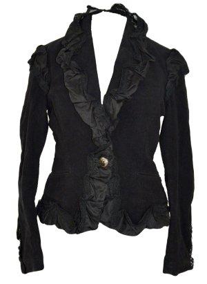 Issey miyake Tailcoat black mixture fibre