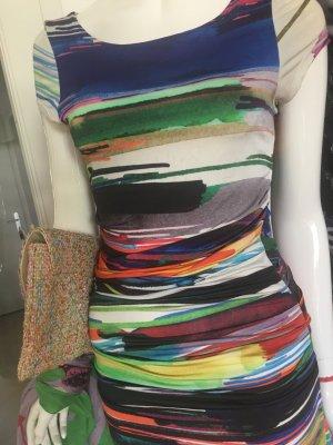 Alba Moda Robe tube multicolore