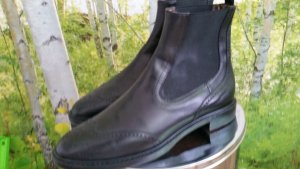 AGL Chelsea Boots black leather