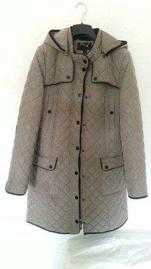 Italia Moda Quilted Coat multicolored mixture fibre