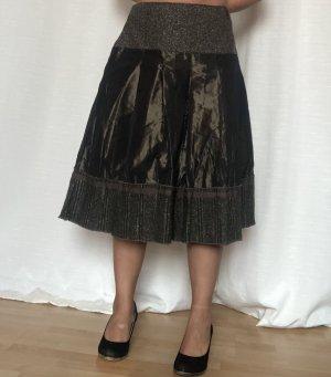 Italia Moda Falda de talle alto multicolor