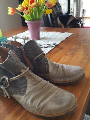 Charme Chelsea laarzen grijs-bruin