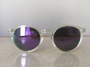 Panto Glasses blue violet-cadet blue
