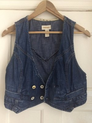 Diesel Denim Vest blue cotton
