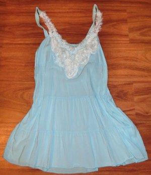 Italien Kleid XS /S blau top Zustand