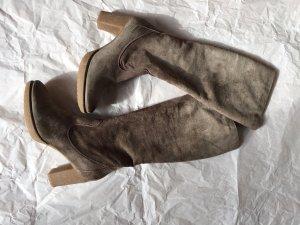 Italienisch Wildleder Stiefel, Größe 41, Marke Manas, neue