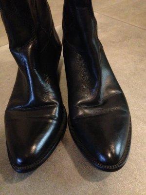 italienische Leder  Stiefel