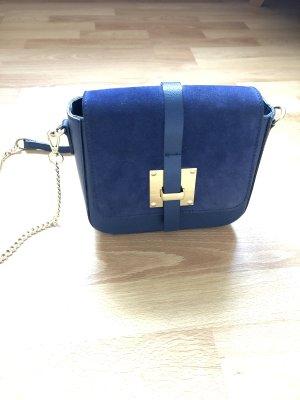 Bolso con correa azul