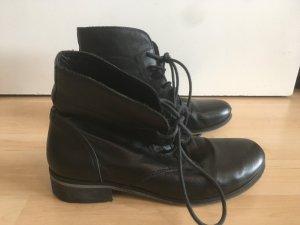 Scarpa stringata nero Pelle