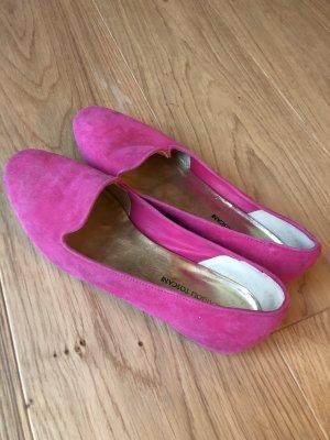 Italienische Schuhe aus Wildleder