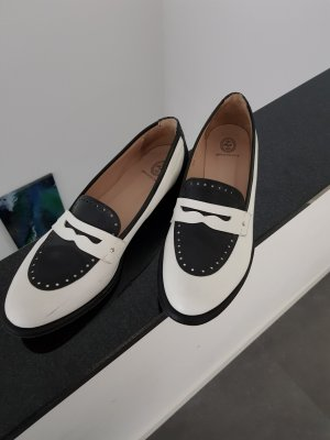 Oxfords white-black