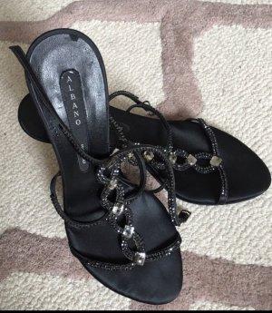 Italienische Schuhe mit Swarovski Steinen
