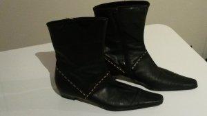 Italienische  Stiefel echtes Leder