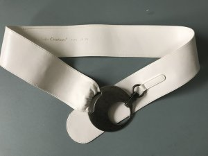 Hip Belt natural white leather