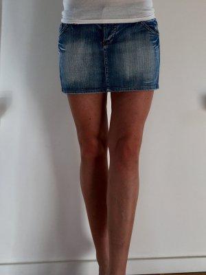 Italienischer Jeans-Minirock Gr. M