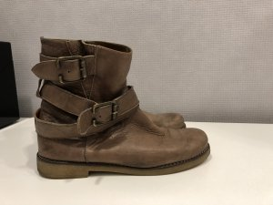 Ovyé Short Boots grey brown-taupe