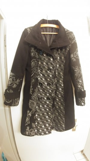 Fleece jas zwart Polyester