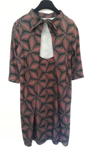 Italienisches Kleid - Rückenausschnitt - tolles Muster - Neu