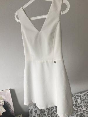 Vestido blanco-blanco puro