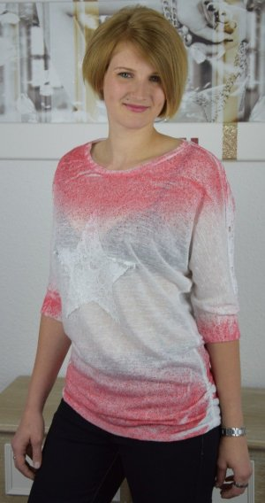 italienisches Longtop Tunika Shirt NEU 36-40
