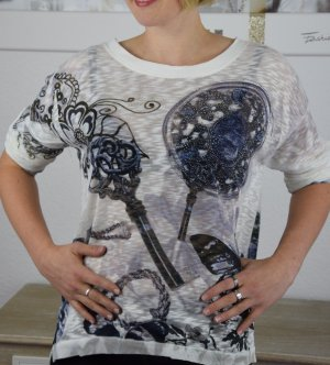 italienisches Longtop Tunika Shirt NEU 42-46