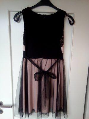 Italy Kleid # neu # Spitze # schwarz # rose