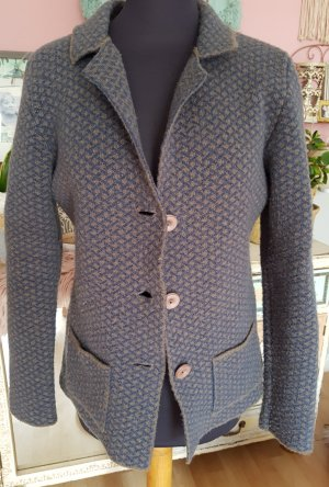 Made in Italy Knitted Blazer grey brown-slate-gray