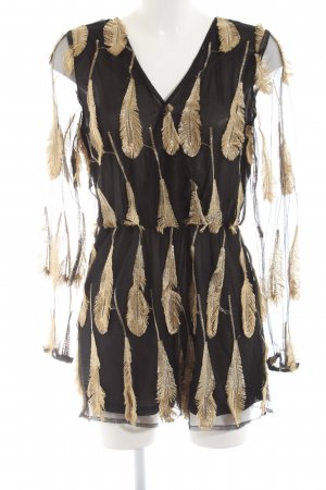 Ivivi Jumpsuit schwarz-goldfarben Elegant