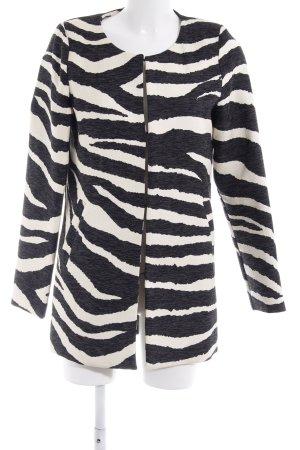 Ivivi Long Jacket black-cream casual look