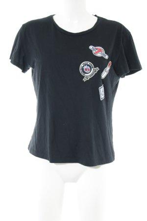 Ivivi T-Shirt schwarz Casual-Look