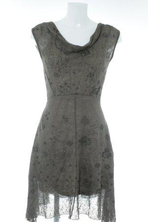 Ivko A-Linien Kleid Blumenmuster Casual-Look