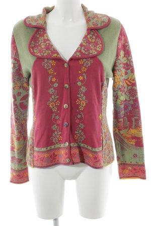 Ivko Cardigan floral pattern casual look