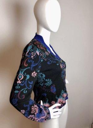 Ivko Veste en tricot multicolore