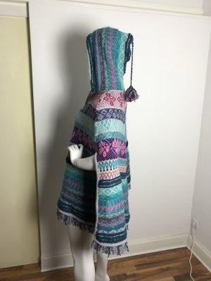 Ivko Manteau en laine multicolore