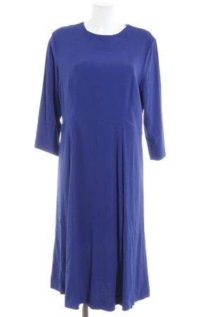 Ivy & Oak A-Linien Kleid blau schlichter Stil