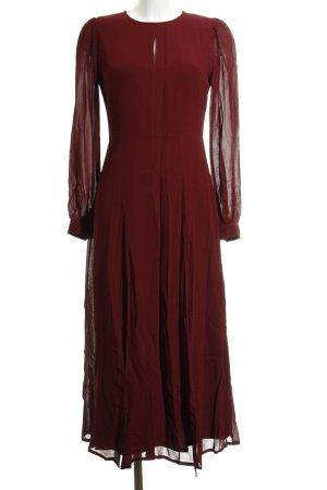Ivy & Oak Abendkleid bordeauxrot Elegant
