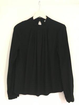 Ivy & Oak Long Sleeve Blouse black viscose